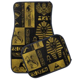 Tapis De Voiture Collage égyptien d'hiéroglyphes et de symboles