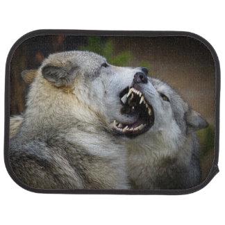 Tapis De Voiture Combat de loup