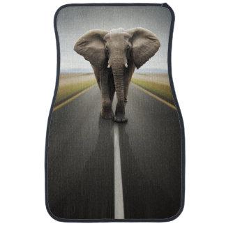 Tapis de voiture d'avant de camionneur d'éléphant