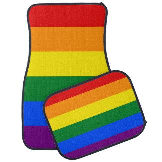 Tapis De Voiture Drapeau de gay pride d'arc-en-ciel