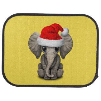 Tapis De Voiture Éléphant de bébé utilisant un casquette de Père