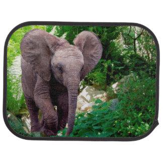 Tapis De Voiture Éléphant et jungle