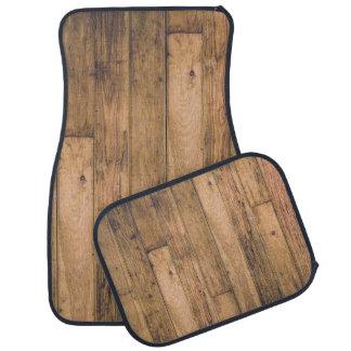 Tapis De Voiture Ferme en bois en bois de planches de grange