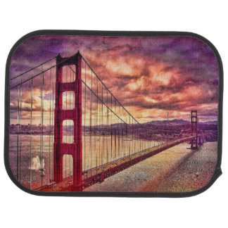 Tapis De Voiture Golden gate bridge à San Francisco, la Californie