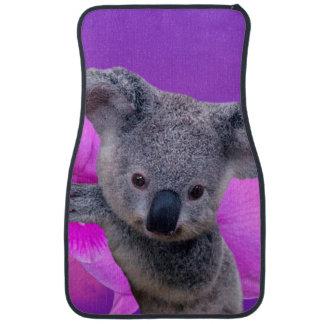Tapis De Voiture Koala et orchidées