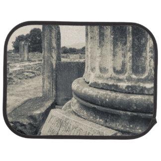 Tapis De Voiture La Grèce, ruines de ville antique