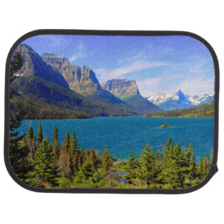 Tapis De Voiture Lac st. Mary, parc national de glacier, Montana