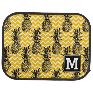 Tapis De Voiture L'ananas zigzague monogramme de |