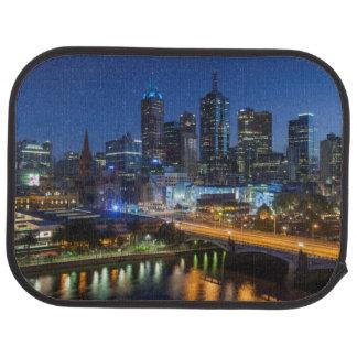 Tapis De Voiture L'Australie, Victoria, Melbourne, horizon avec