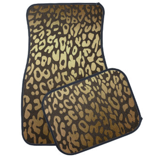 Tapis De Voiture Moderne fascinant d'empreinte de léopard de