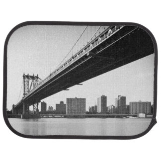 Tapis De Voiture Pont de Manhattan et horizon, New York, USA