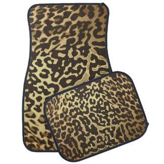 Tapis De Voiture Poster de animal d'or de guépard de léopard d'or