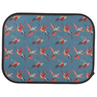 Tapis De Voiture Rétro motif de colibri