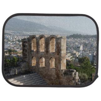 Tapis De Voiture Ruines antiques d'Acropole donnant sur Athènes