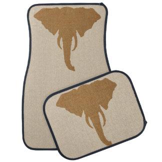 Tapis De Voiture Safari rustique naturel principal de Brown