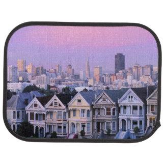 Tapis De Voiture San Francisco, la Californie. Vue de victorien