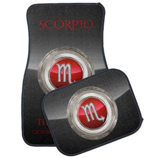 Tapis De Voiture Scorpion - le symbole du zodiaque du scorpion