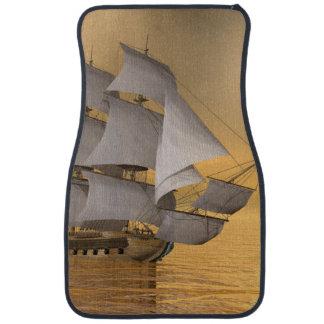 Tapis De Voiture Vieux navire marchand - 3D rendent
