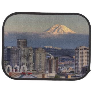 Tapis De Voiture WA, Seattle, le mont Rainier du parc de Kerry