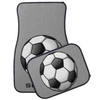 Tapis Football-Orientés de voiture Tapis De Voiture