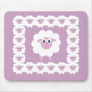 Tapis mignon de souris de moutons tapis de souris