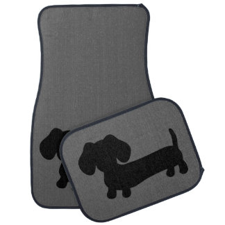 Tapis noirs et gris de plancher de camion de tapis de voiture