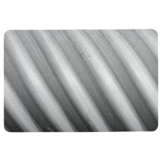 Tapis ondulé éraillé de plancher de conception de