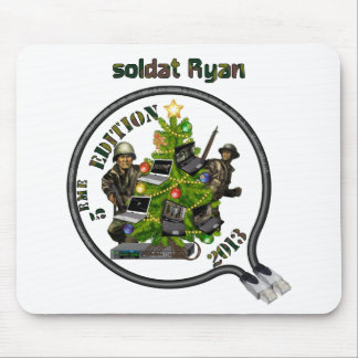 Tapis souris Lan de Noël soldat Ryan Tapis De Souris