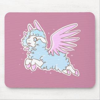 Tapis souris mousepad kawaii fantasy sheep pink tapis de souris