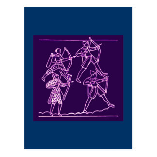 Tapisserie de Bayeux Carte Postale