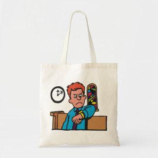 Tard dans le sac fourre-tout à église