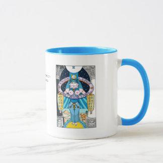 Tarot de la haute tasse de prêtresse de Sephiroth