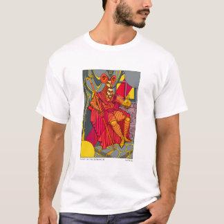 Tarot du T-shirt des hommes d'empereur de