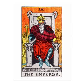 tarot-empereur carte postale