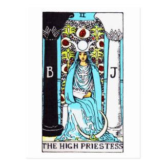 tarot-highpriestess cartes postales