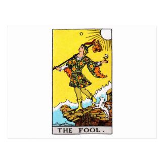 tarot-imbécile carte postale