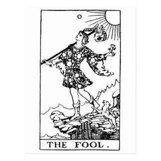 Tarot - imbécile cartes postales