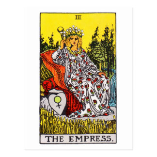 tarot-impératrice carte postale
