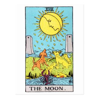 tarot-lune carte postale