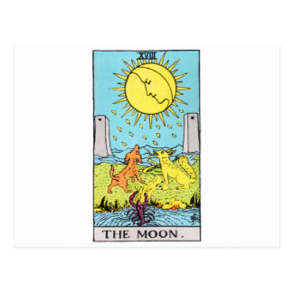 tarot-lune cartes postales