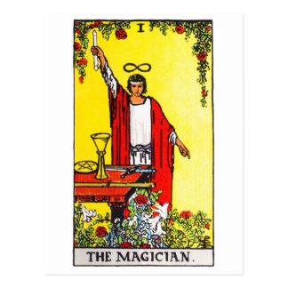 tarot-magicien carte postale