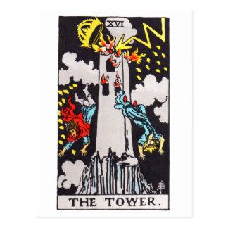 tarot-tour cartes postales