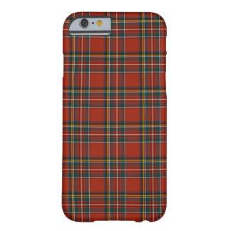 Tartan classique rouge et bleu de Stewart royal Coque Barely There iPhone 6