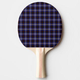 Tartan de colline de clan raquette tennis de table