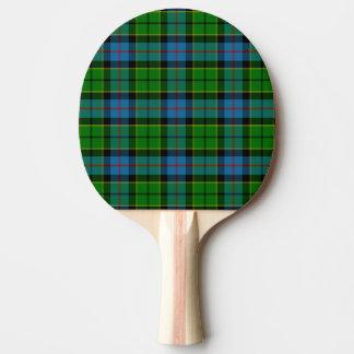 Tartan de Forsyth de clan Raquette Tennis De Table