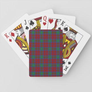 Tartan de Lindsay de clan Jeux De Cartes
