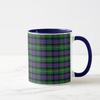 Tartan de Malcolm de clan Mug