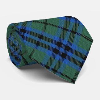 Tartan de monogramme de la lettre K de Keith de Cravates