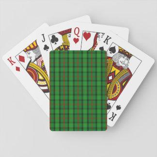 Tartan de Ross de clan Jeux De Cartes