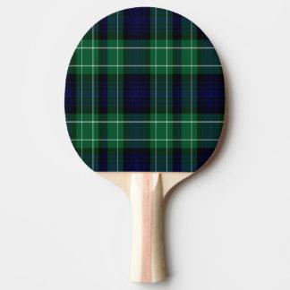 Tartan d'écossais d'Abercrombie Raquette Tennis De Table